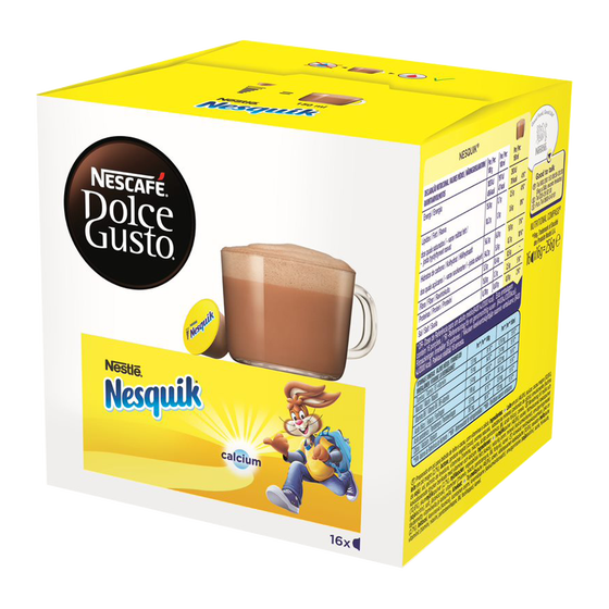 Dolce Gusto - Nesquick