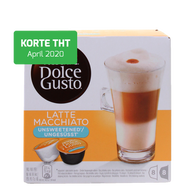 Dolce Gusto - Latte Macchiato Unsweetened 3 pack